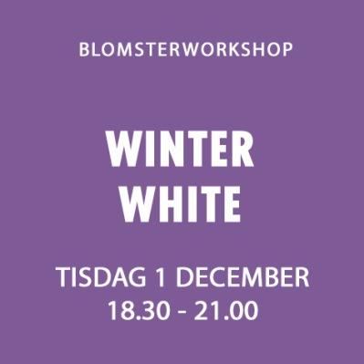 WINTER WHITE / 1 DECEMBER -