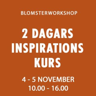 2 DAGARS INSPRATIONSKURS -