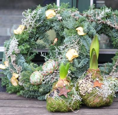 Blomsterbox Dörrkrans -