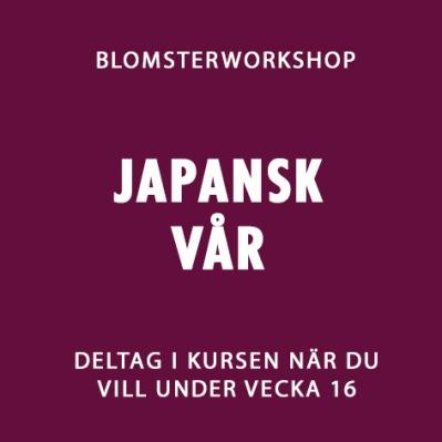 JAPANSK VÅR V.16 -