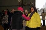 Veterinärbesiktning av deltagarna