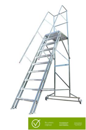 Mobil trappa bra arbetsmiljöval, art.nr 3200