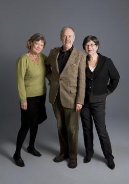Från vänster: Sonja Nyström, Lars Tauvon, Kate Bradshaw Tauvon