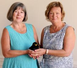 Från vänster:  Kate Bradshaw Tauvon, Sonja Nyström