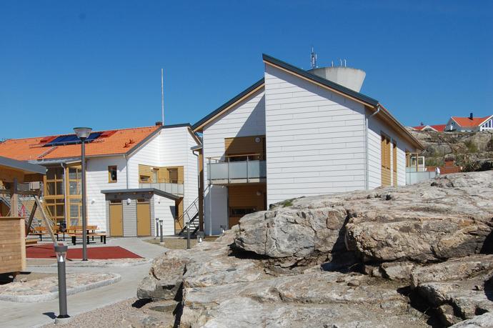 Skolgatan i Smögen