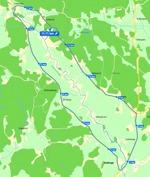 Del av kartbild Eniro.se