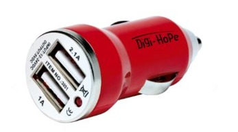Dubbel USB Bil laddare | Summer Snow Parks