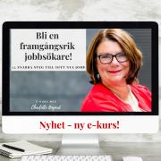 BLI EN FRAMGÅNGSRIK JOBBSÖKARE  e-kurs