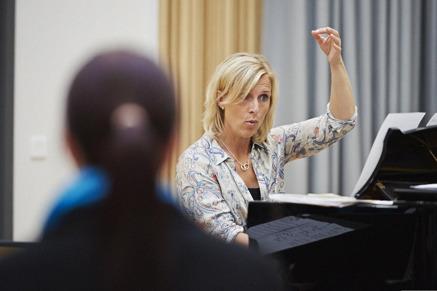 Susanna Lindmark workshops för körer, körledare och kyrkomusiker