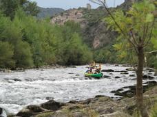Paddla kanot & bada i forsar