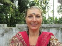 Besök i tempel, Indien 2015