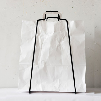 Bag paperspåse vit