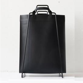 Bag återanvänt läder