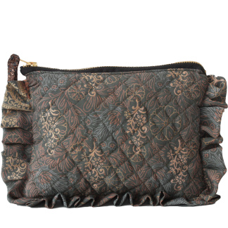 Sari frill purse