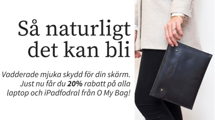 O My Bag. Laptop ipad fodral