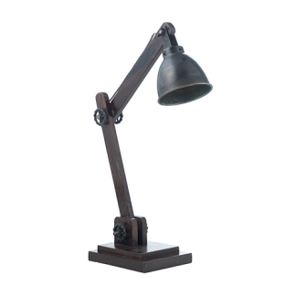 Fuhr Home bordslampa - Bordslampa black zink