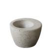 Äggkopp betong - Äggkopp mörkgrå 2 st