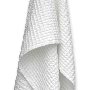 Våfflad bomull handduk