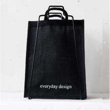 Bag juteväska svart