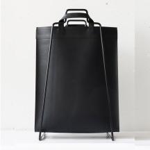 Bag väska återanvänt läder