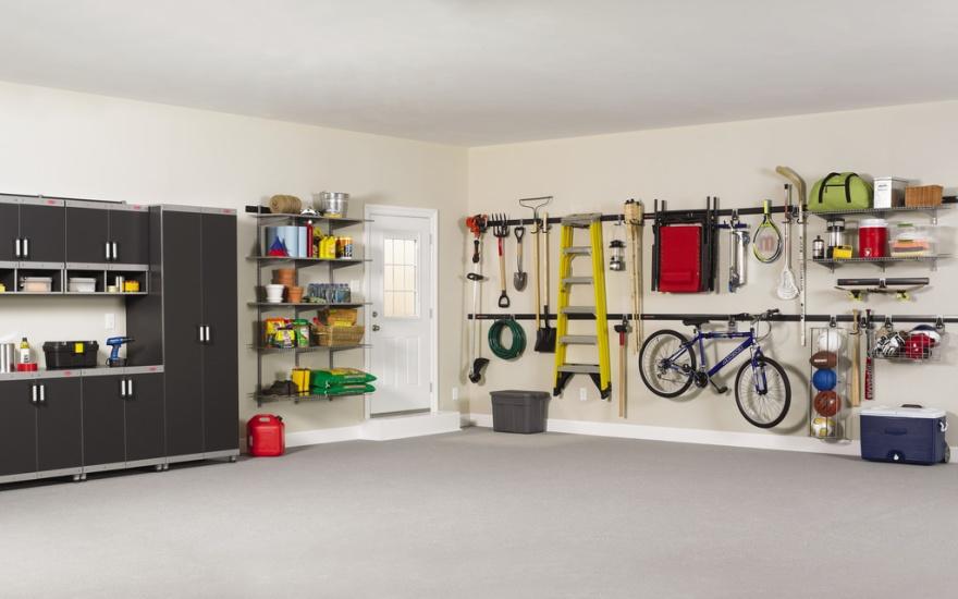 Bästa tipsen på hur du får ordning i garaget eller hallen.