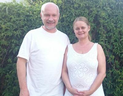 Joachim Fagerberg och Anette Sjövall