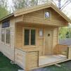 Fritidshus 25 m² + Dubbla Loft - Isolerad
