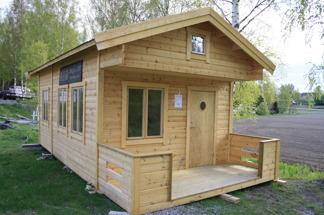 Fritidshus 25 m² + Dubbla Loft - Oisolerad