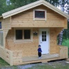 Fritidshus 25 kvm - med Dubbla Loft 10+8 kvm
