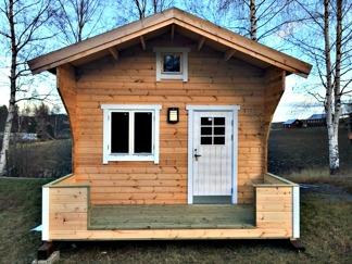 Fritidshus Attefallshus 25 m2 + loft 10kvm - Oisolerad