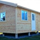 Attefallshus fritidshus 25 m²