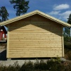 Attefallshus 25 m² (15 kvm gäststuga - 10 kvm förråd)