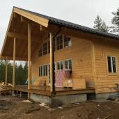 Bostadshus 150kvm med loft våning