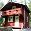 Härbre 18 m² + 18 m² (36m²) + Balkong - Isolerad