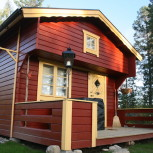 Loftstuga 15 m²
