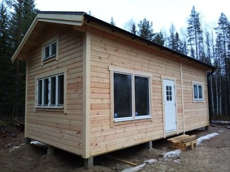 Attefallshus 30 kvm + loft