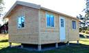 Ett attefallshus 25 - en typiskt komplementbyggnad med maxgräns på 25 kvm.