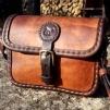Handväska - rödbrun