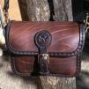 Handväska - mörkbrun