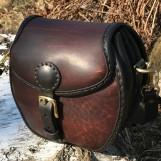 Hög rund handväska