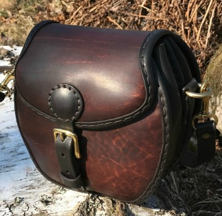 Hög rund handväska - Hög rund handväska