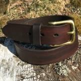 Bälte mörkbrun 32mm