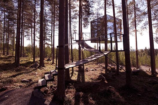 bilder från http://www.treehotel.se/en/