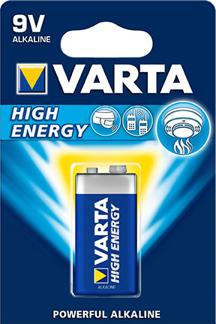 Batteri 6LR61 High Energy 9V