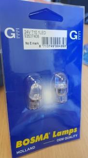 LED 24V T10 VIT 2-P