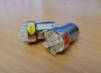 LED LAMPOR 24V - LED GUL BA15s 5-dioder