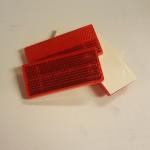 Reflex självhäftande Röd