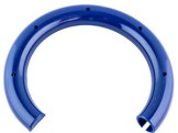 Rubber spring support