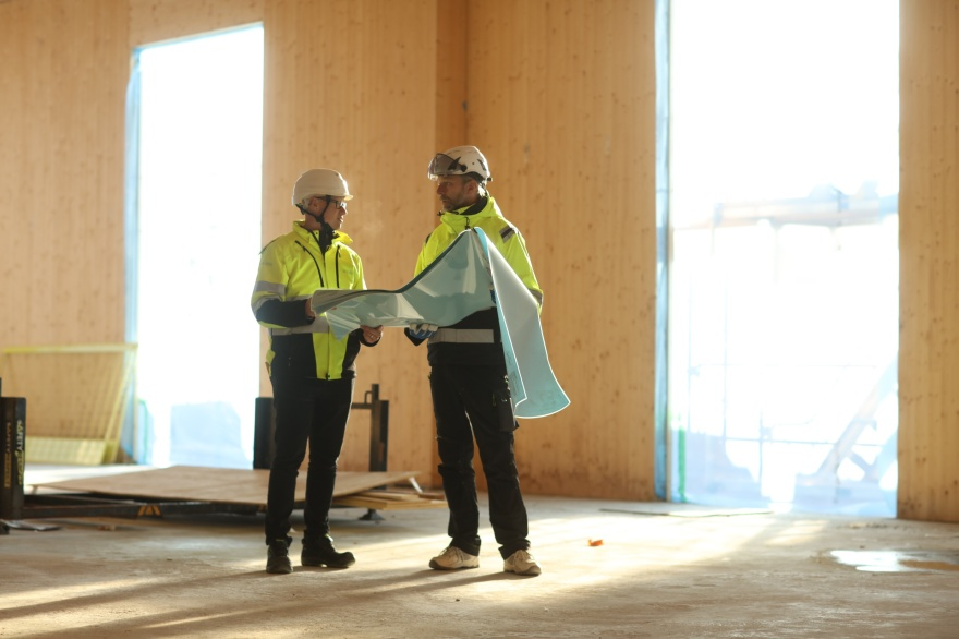Bygglovsritning, Kontrollansvarig PBL, projektledning, besiktning