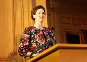 Anna Kinberg Batra talade på Styrelsekrafts nationella alumnimöte.